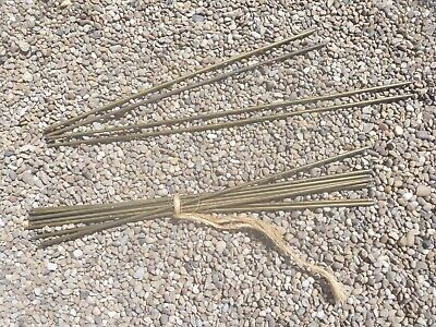 Vintage Brass Stair Rods.14 in Total .10 x 24