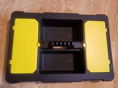 Stanley Tote Tray - NEW LARGE JUMBO Stanley Tool Hardware Tote Tray Tool Carrier 24