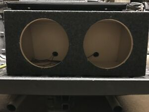 "Dual sub box for 12"" subs  32""L x 16""W x 14""H"