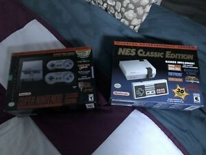 SNES and NES Classic