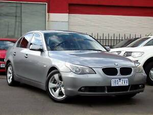 2005 BMW 530i E60 Petrol 3.0L Auto Sedan *** $9,750 DRIVE AWAY *** Footscray Maribyrnong Area Preview