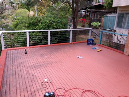 Carpenter for decks,pergolas