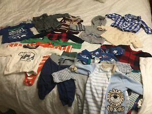 Baby Boy Clothes lot (0-3 months)