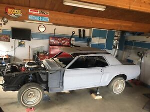 WTB 1968 Mustang coupe parts