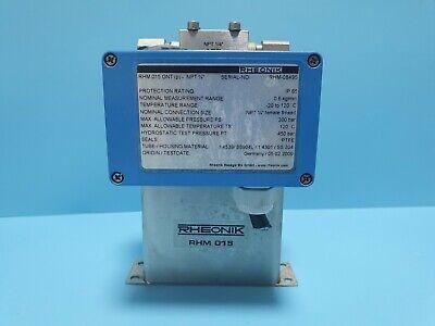 RHEONIK RHM015 GNT Mass Flowmeter