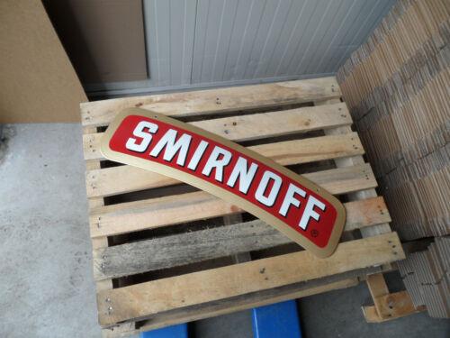 SMIRNOFF Russian Vodka - Porcelain Enamel Sign