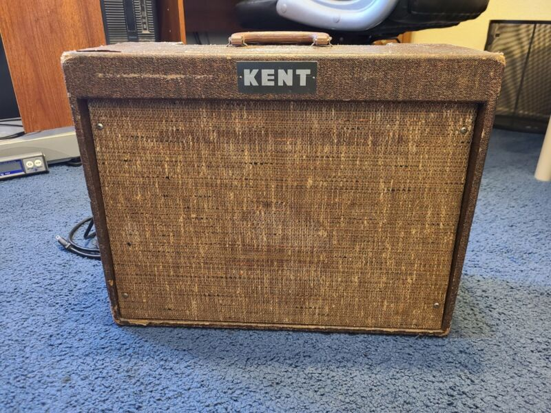 """Kent A-30 Tube Amp Re-Capped and Sounds Great 6"""" Jensen Speaker"""