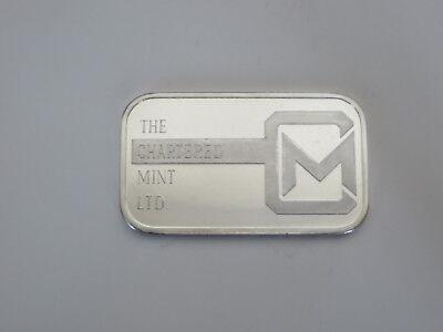 Scotia Bank Mocatta 1 oz Silver .999   (Scotia Bank)