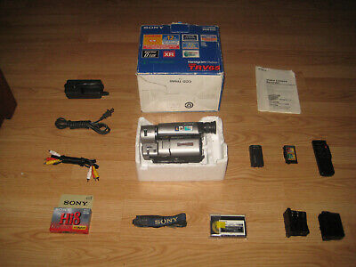 Sony CCD-TRV65 XRAY Hi8 8MM X RAY Camcorder with kit. FEB 1998. MADE IN JAPAN