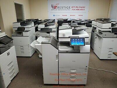 Ricoh Mp 6055 Blackwhite Copier Printer Scanner Meter Count Only 150k