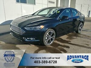 2018 Ford Fusion Titanium AWD - Leather Heated / Cooled - rem...