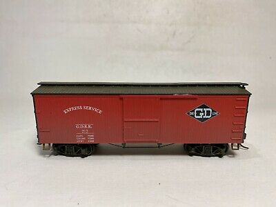 HO Roundhouse GORRE DAPHETID GD 36 SD Wood Box Car 212 EXC KDs Train - $20.00