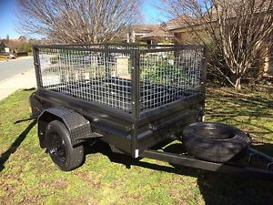 6x4 caged trailer for HIRE Amaroo Gungahlin Area Preview
