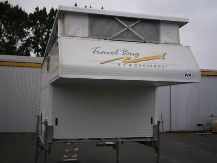 TRAY MOUNTED SLIP-ON TYPE OFF-ROAD CARAVAN Picton Bunbury Area Preview