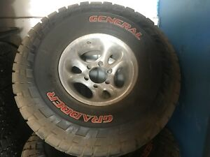 General Grabber Tires - Like new!