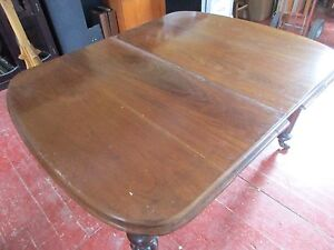 Antique Dining Walnut extension table