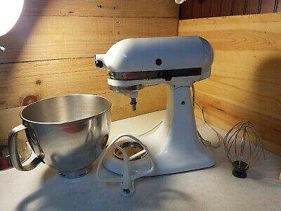 Kitchenaid Artisan Stand Mixer With Bowl Beaters
