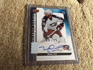 Autographed NHL Cards