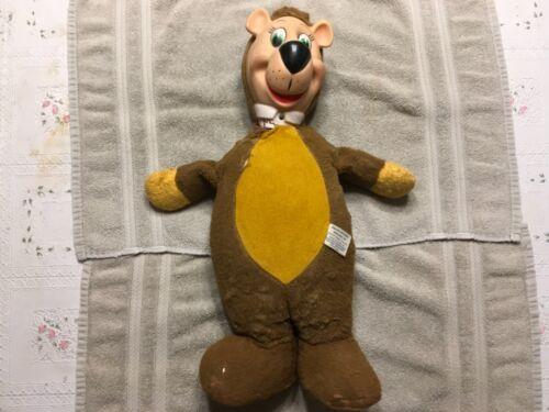 Vintage Knickerbocker Yogi Bear Plush, Hannah Barbera Character 1959