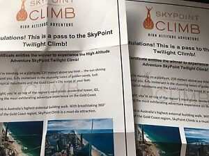 Q1 Skypoint Twilight Climb x 2 Springfield Ipswich City Preview