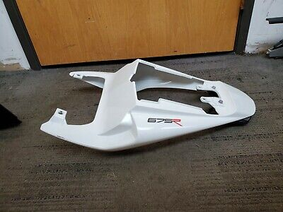 2012 06-12 TRIUMPH DAYTONA 675 675R REAR BACK TAIL FAIRING LIGHT WHITE COWL OEM