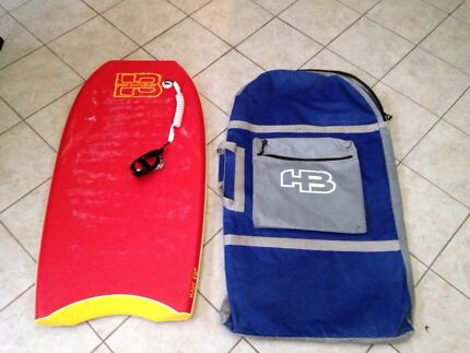 Hot Buttered body board and bag. Wattle Grove Liverpool Area Preview