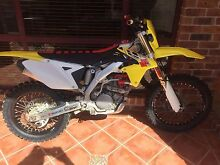 2010 Suzuki RMX450Z fuel injected ENDURO model new parts Ashtonfield Maitland Area Preview