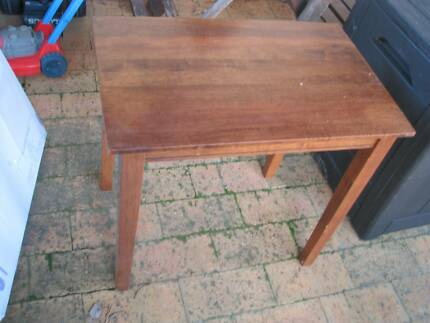 timber side table, lamp coffee table 36cm x 56cm x 52cm tall