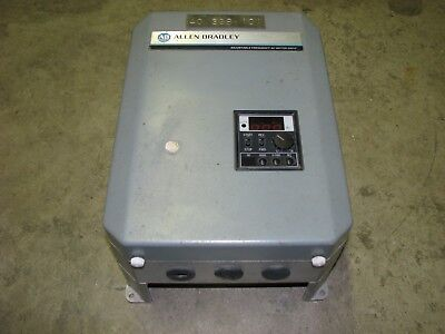 Allen Bradley 1333-bab Adjustable Frequency Ac Motor Drive 3-phase