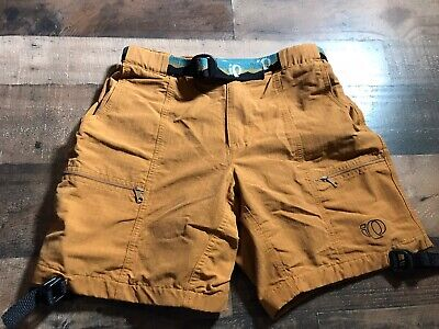 PEARL IZUMI Men's Cycling Shorts Tan Size Small 28