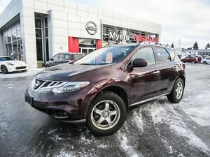 2013 Nissan Murano SL , Leather seats, sunroof, Hitch