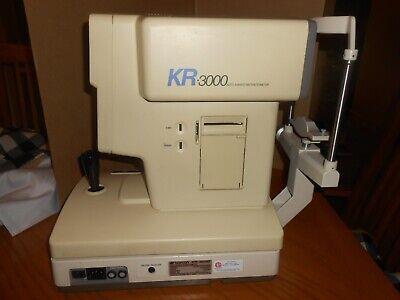 Topcon Kr 3000 Autorefractometer Keratometer Excellent Condition
