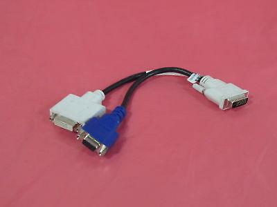 X2026 Dell  Inc Dvi To Dvi   Vga Video Splitter