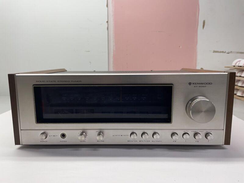 Vintage Kenwood KT-8007 Solid State Stereo Tuner Working