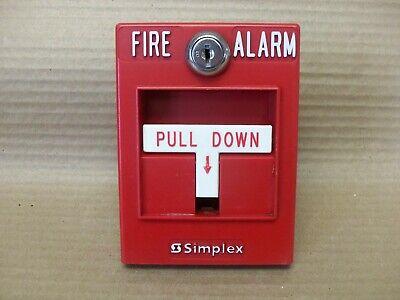 Simplex 4099-9001 Addressable Fire Alarm Pull Station