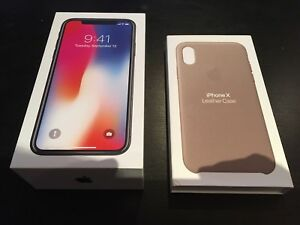 iPhone X 64gb Unlocked AppleCare+ til 2020