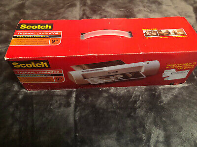 Scotch Thermal Laminator Laminating Machine 2 Roller System Fast Warmsup 3-5 Min
