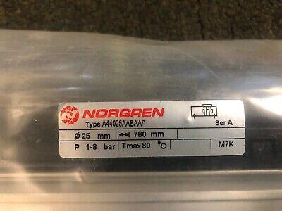 Norgren A44025aabaa0780 Rodless Air Cylinder 780mm Stroke 25mm Dia