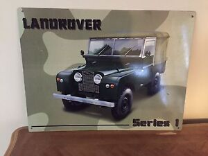 Land Rover Series 1 - Plaque Bentleigh East Glen Eira Area Preview