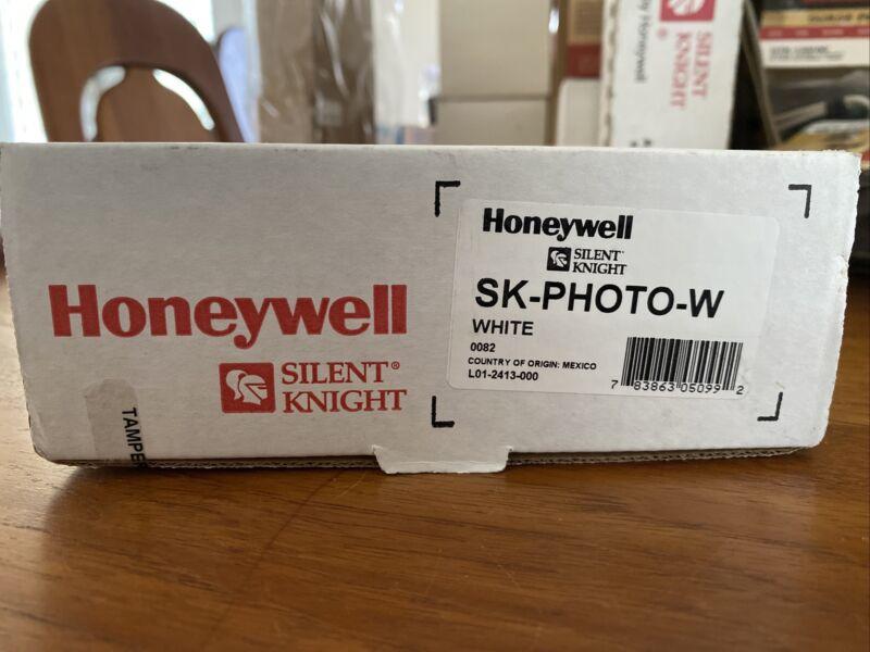 Honeywell Silent Knight Low Profile Addressable Detector SK-PHOTO-W Smoke Detect