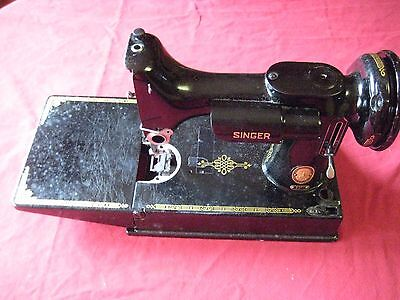 Singer Featherweight 221 sewing machine Hull for PARTS OR REBUILD
