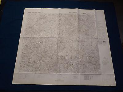 Landkarte Großblatt 48 Umgebung von Soltau, Walsrode, Munster, Rotenburg, 1939