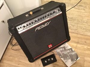 Peavey Bandit 112 Amp and Zoom G3 Effects Stompbox