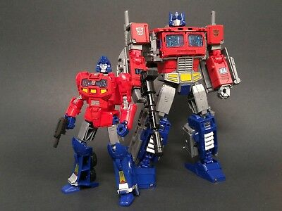 Dsa 05 Transformers Potp Optimus Prime   Orion Pax Back   Jetpack Kit