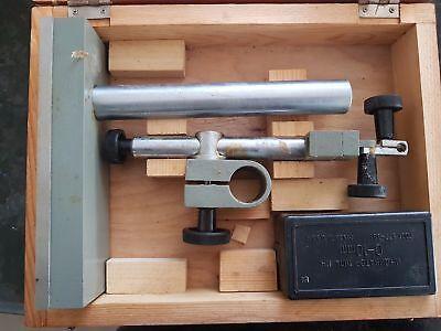Dial Indicatorcomparator Measuring Big Stand Ussr New Mikrokator Messstativ