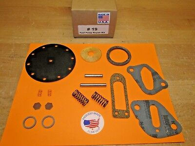 1936 TO 1953 AUTOCAR TRUCK MODERN SINGLE ACTION  FUEL PUMP KIT FOR TODAY'S - 1944 Auto Car Trucks
