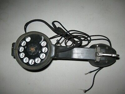Linemans Vintage Butt Set Test Phone Pin Dial Rotary