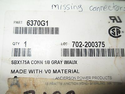 V46-2 1 Anderson Power 6370g1 Forklift Power Connector