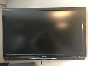 37 inch Sharp LCD 720p HD television