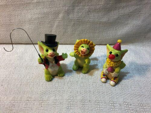 Whimsical World Of Pocket Dragons Circus Collection Set of 3 Real Musgrave NIB